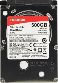 500 ГБ Внутренний <b>жесткий диск Toshiba L200</b> Slim ...