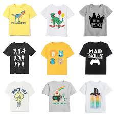 2019 <b>summer kids t shirt</b> for boy short sleeve children t shirt baby ...