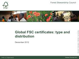 Facts & <b>Figures</b> | Forest Stewardship Council