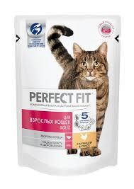 Perfect Fit Adult / <b>Паучи Перфект Фит</b> для взрослых кошек Курица ...