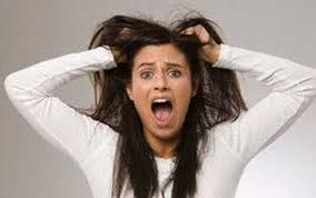 Image result for tearing hair out