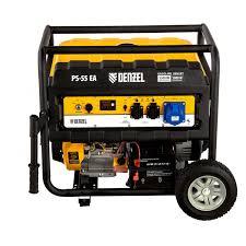 <b>Генератор бензиновый Denzel PS</b> 55 EA оптом: купить на ...