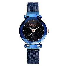 Watches for Girls <b>Fashion Starry Sky</b> Stainless Steel Mesh Belt ...