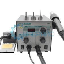 Термовоздушная <b>паяльная станция Quick</b> 706W+ (компрессорная ...
