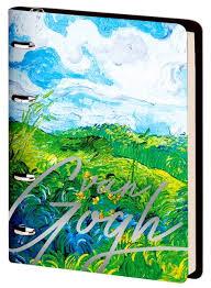 <b>Greenwich Line Тетрадь</b> на кольцах ЛАЙТ <b>Vision</b>. Van Gogh ...