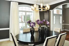 Of Painted Dining Room Tables Dining Room Elegant Dining Room With Black And White Design Also