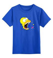 """Детская футболка классическая унисекс """"The Simpsons Cosmo ..."""