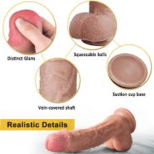 <b>Realistic Dildo</b>, 10 Inch Dual-Density Silicone <b>Huge Penis</b> with ...