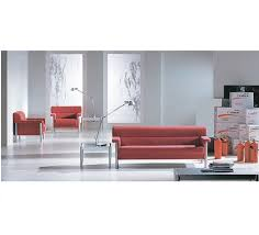 China <b>High Quality Good</b> Design Red <b>Leather Office</b> Sofa on Sale ...