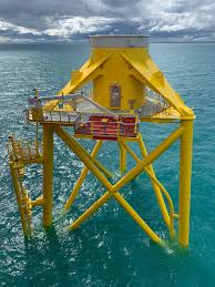 Third of Moray <b>East Wind</b> Turbine Foundations In Place | Offshore ...
