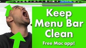 How to Hide Menu Bar Icons Free (<b>Mac</b>) with <b>Vanilla</b> - YouTube
