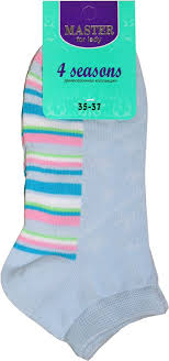 Носки женские Master Socks, цвет: голубой. 55910. Размер 25 ...