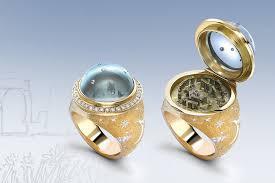 $27,000 Summer Solstice <b>Ring</b> Features a <b>Miniature</b> Stonehenge ...