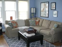 minimalist living room design with cream leather couch blue couches living rooms minimalist