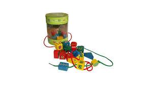 <b>Деревянная игрушка QiQu Wooden</b> Toy Factory Шнуровка-бусы ...