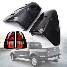 से आदेश Banggood Pair Smoke Lens Car LED Rear Tail Light ...