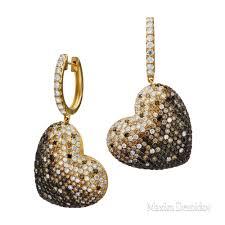 <b>Серьги</b> 1070953 <b>Бриллиант</b> (<b>198</b>) 2,9 карат Золото 750 желтое ...