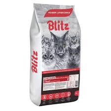 <b>Сухие корма</b> для кошек <b>BLITZ</b> - отзывы, рейтинг и оценки ...