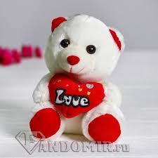 """<b>Мягкая игрушка</b> """"<b>Мишка</b> с сердцем"""" купить в интернет-магазине ..."""