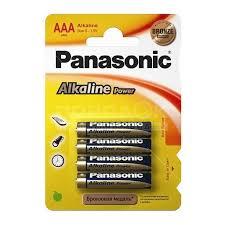 <b>Батарейка Panasonic AAA</b> LR03 BL4 Alkaline, цена за блистер 4 шт