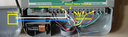 sprinkler master pump valve wiring iscaper blog master valve relay diagram