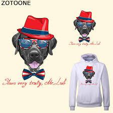 <b>ZOTOONE</b> Cute Dog Patch Iron on Transfers for T Shirt Printing ...