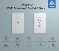 Sonoff IW100 IW101 Smart <b>Home Wall Switch Power</b> Measure Over ...