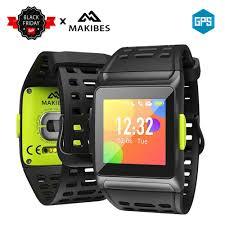 In Stock Makibes BR1 GPS Strava Multisport Smart Watch Heart ...