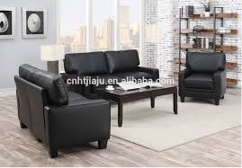 simple leather sofa set modern simple black leather sofa set design for office or home picture black leather sofa office
