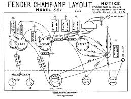 fender champ layout amp and pedal schematics pinterest on silverface deluxe reverb layout schematic
