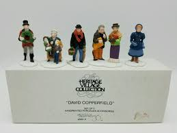 department dickens david copperfield characters pc set new in department 56 dickens david copperfield characters 5 pc set new in box retired 3 3 of 3 see more