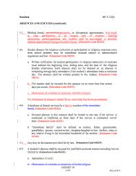 agenda item third reading board policy absences and excuses when a student has had 14 absences in the school year for illness verified by methods listed in 1 3 above any further absence for illness shall be