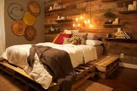 pallet bedroom furniture diy pallet bed bedroom furniture diy