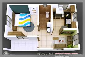 Small Picture tiny homes 3D isometric views of small house plans Indian Home