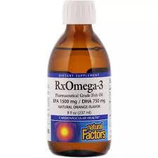 <b>Natural Factors Omega</b>-<b>3</b> Fish Oil <b>Rx</b>