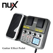 <b>NUX</b> MG 100 Modeling <b>Guitar</b> Processor <b>Guitar Effect Pedal</b> Drum ...