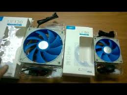 <b>Вентиляторы</b> DEEP <b>COOL case fan</b> UF120 и UF80. PWM Хаб для ...