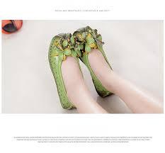 <b>2019 New</b> spring Handmade flower <b>women's</b> shoes <b>genuine</b> leather ...