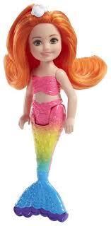 <b>Кукла Barbie</b> Маленькая <b>русалочка</b>, 15 см, FKN05 — купить по ...
