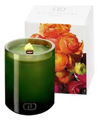 <b>Ароматическая свеча</b> с деревянным фитилем Бутоньерка малая ...