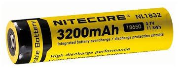 Купить <b>Аккумулятор Nitecore Rechargeable</b> NL1832 18650 Li-Ion ...