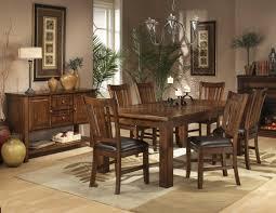 Light Oak Living Room Furniture Dark Oak Finish Casual Dining Table W Optional Chairs