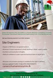 site engineers global hr solutions pvt latest vacancies in best job site in sri lanka cv lk