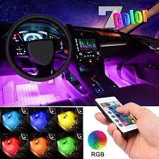 Car LED Strip Light, EJ's SUPER CAR 4pcs 36 LED ... - Amazon.com