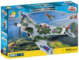 Купить <b>конструктор COBI</b> Самолет-истребитель <b>Supermarine</b> ...