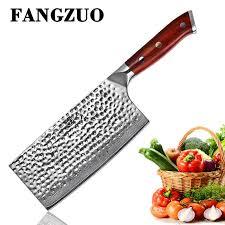 <b>FANGZUO</b> 7 inch 440C Stainless <b>Steel</b> Kitchen Chopping Knife ...