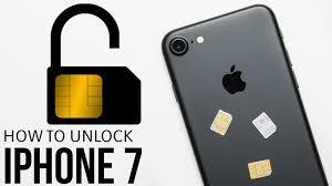 How To Unlock iPhone 7 (Plus) - SIM Unlock - YouTube