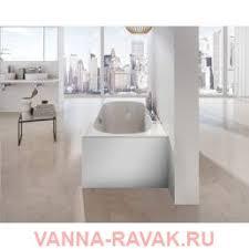 <b>Боковая панель</b> для ванны Ravak CITY SLIM правая <b>80 см</b> белая ...