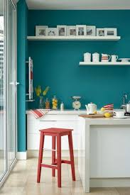 teal blue chic mint teal office
