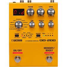 BOSS OD-200, купить <b>педаль эффектов BOSS</b> OD-200